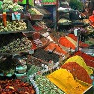 egypský bazar